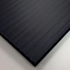 4mm Black Correx Fluted Board 1220 x 2440 Correx Sheet Corrugated Plastic Sign