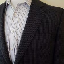 LRL Ralph Lauren Houndstooth Plaid Blazer Wool Sport Coat Mens sz 40L Jacket