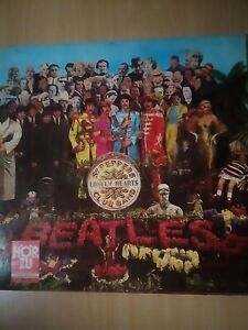 Beatles St. Peppers Club Band LP