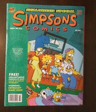 The UK Simpsons Comics #33 Nov 1999 Halloween Special