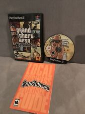Grand Theft Auto Gta San Andreas Sony PlayStation Ps2 Complete Tested