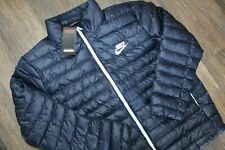 New Nike Men's Sportswear Puffer Winter Jacket Navy Blue XL