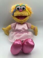 Sesame Street Zoe Gund Plush Kids Soft Stuffed Toy Animal Doll Muppets Henson