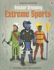 Sticker Dressing Extreme Sports  Usborne Activities