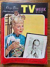 Lana Turner Jan 12-18 1963 TV WEEK Chicago Tribune LOCAL GUIDE