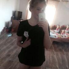 Womens Short Sleeve T-Shirt Summer Crew Neck Loose Casual Tops Tee Shirt Blouse