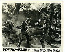 PHOTO MGM THE OUTRAGE de Martin RITT avec Paul Newman L. Harvey G. Robinson