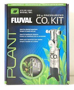 Fluval Pressurized CO2 Kit Plants & Planted Aquariums Bracket 95g. -D465*
