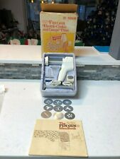 Sears Fun Gun Super Shooter Electric Cookie Pastry Press Vintage Canape 82505