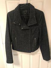 Portmans Wool Blend Jacket Dark Grey Sz14
