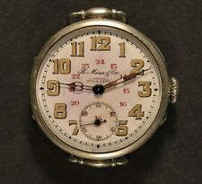 Antique Ulysse Nardin by Moser & Cie Pin Set Watch - Working - Estate Find