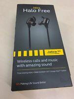 Jabra Halo Free In-Ear Wireless Bluetooth Headphones Water Resistant Black