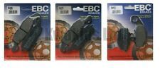 Kawasaki ER6F ER-6F ER6 (EX650) 2006-2013 Set of EBC Front & Rear Brake Pads