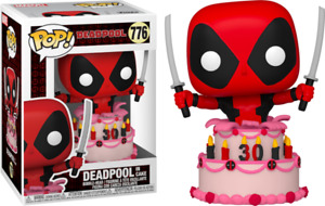 Deadpool - Deadpool in Cake 30th Anniversary Pop! Vinyl #776 - NEW