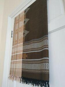 Yemeni Arab izaar lungi mawaz tassels towel Islamic gents Somali african