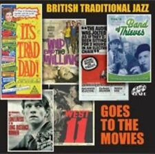 British Traditional Jazz Goes to The Movies 5017116600623 by Various Artists CD