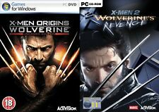 x-men origins wolverine uncaged edition & xmen 2 wolverines revenge