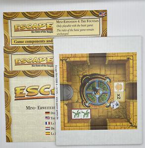 Escape: The Curse Of The Temple Mini Expansion 4: The Fountain