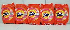 (5) Tide Powder with Freshnes of Downy Laundry Detergent Powder 370 grams each.