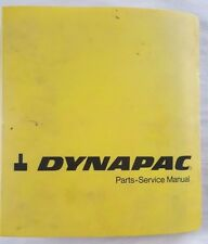 heavy equipment manuals books for compactor and dynapac dynapac cc21 compactor parts operation field maintenance shop manual