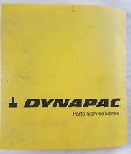 DYNAPAC CC21 COMPACTOR PARTS OPERATION & FIELD MAINTENANCE SHOP MANUAL