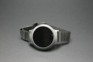 LG Watch Style W270 Titanium Stainless Steel Black - Milanese Loop Bracelet
