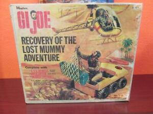 1972 GI JOE RECOVERY OF THE LOST MUMMY ADVENTURE TEAM PLAYSET EMPTY BOX HASBRO