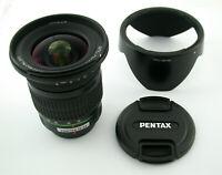 PENTAX SMC DA ED AL IF 4/12-24 12-24 12-24mm F4 4 fast wie neu near mint