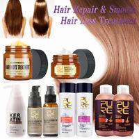 7 Types Pure Keratin Straightening Treatment Hair Care Repair Healing & Styling