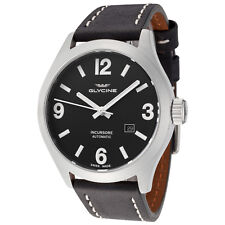 Glycine Men's 3922.191.LB9B Incursore Automatic 44mm Black Dial - GL0045