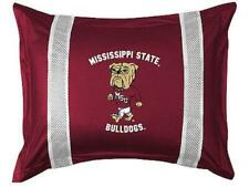 Mississippi State Bulldogs Jersey Pillow Sham Lr - No Stripes on Front