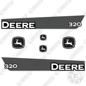 John Deere 320 Decal Kit Skid Steer Equipment Replacement Decals