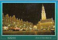 BF22307 arras p de calais place des heros et l hotel de france  front/back image