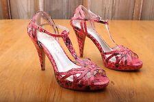 White House Black Market Strappy Stiletto High Heels Women's Size 7 M