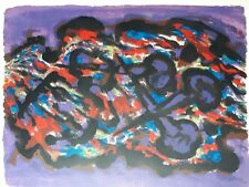 """Alfred Manessier, Large Lithograph, """"The Three Nails"""", Hand Signed, AP, Arches"""