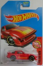 2017 Hot Wheels THEN AND NOW 4/10 Mazda RX-7 (Red Kmart Version)