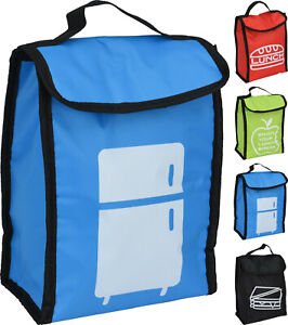 Insulated Lunch Bag Sandwich Bag Packed Lunch Cool Bag School Beach Picnic BBQ