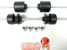 SUZUKI GSX1400 GSX 1400 CRASH MUSHROOMS SLIDERS BOBBINS AXLE FRONT & REAR    S4E