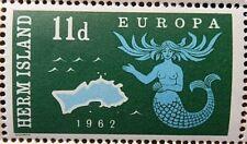 1962 HERM ISLAND - 11d. MERMAIDS -  MNH