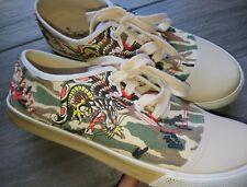 ED HARDY Schuhe Sneaker Snakebird  Camouflage Gr 37 (38)  wie neu