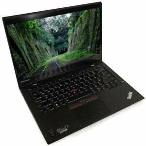 """Lenovo X1 Carbon Gen 3 Laptop i5-5300U 2.3GHz 14"""" 2K Touch 8Gb 180GB 4G LTE W10P"""