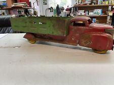 Vintage 1920s Steelcraft Keystone Buddy L? Farm Truck Metal Wheels Original