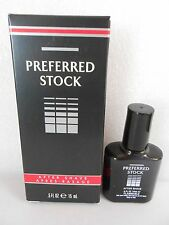Preferred Stock Aftershave For Men .5 OZ By Coty New in Box Travel Size