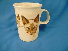 Coffee mug tea cup 3 tan kittens raised design cats siamese felines