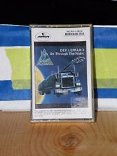 new sealed  Cassette DEF LEPPARD ON THROUGH THE NIGHT MCR4-1-3828 MERCURY 1980 ?