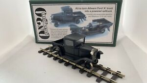 Backwoods Miniatures Athearn Ford A powered railtruck On30 0-16.5 7mm