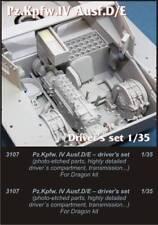 Czech Master 1/35 pz. Kpfw. IV Ausf. D/E controladores Set # 3107