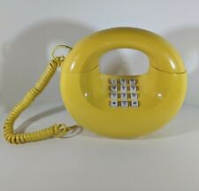 Vintage Rare Western Electric Yellow Touch Dial Donut Telephone Phone