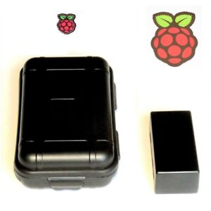 Hard Case + Standard Case + 2x Stickers - for Raspberry Pi Zero/Zero W/ Zero WH