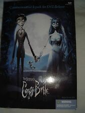 "Victor And Corpse Bride 7"" figure Mcfarlane Toys Commemorative 2 pack Tim Burton"